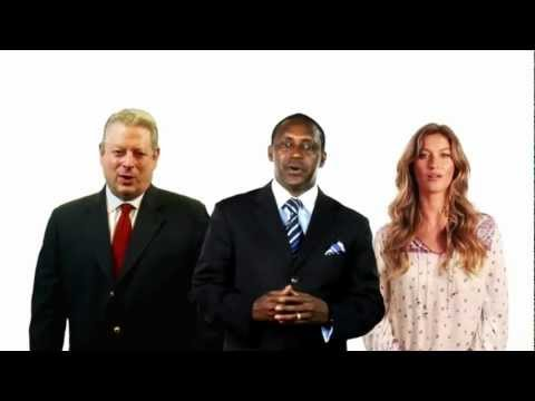 Al Gore, Bundchen and Yumkella on Sustainable Energy for All
