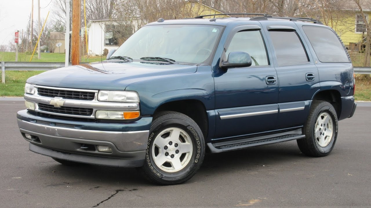 2005 chevy tahoe bermuda blue lt 4x4 youtube. Black Bedroom Furniture Sets. Home Design Ideas