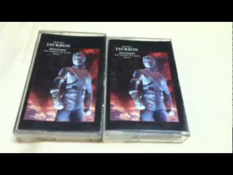 Michael Jackson HIStory Past, Present And Future Book I Cassette Unboxing
