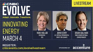 WATCH LIVE: John Kerry and Occidental CEO Vicki Hollub join CNBC Evolve event—3/4/2021