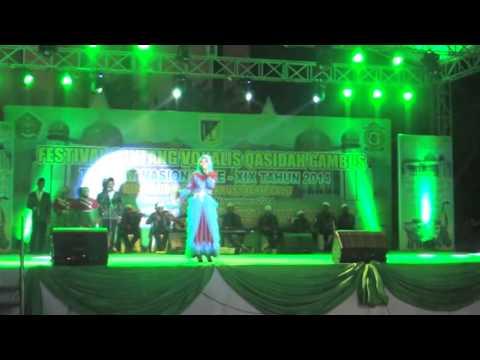LASQI - JUARA 2 DEWASA PUTRI FESTIVAL BINTANG VOKALIS QASIDAH GAMBUS NASIONAL XIX 2014 PALU SULTENG