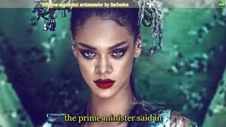 1299 Breaking News   Rihanna appointed ambassador by Barbados