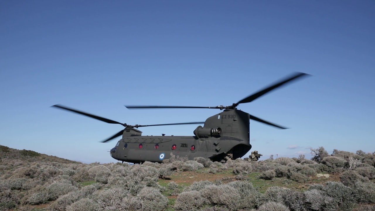 U.S. Army's • 101st Combat Aviation • Train with Greek Military • Aegean Sea, Jan. 13-14 2020