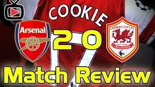 Video Gol Pertandingan Arsenal vs Cardiff City