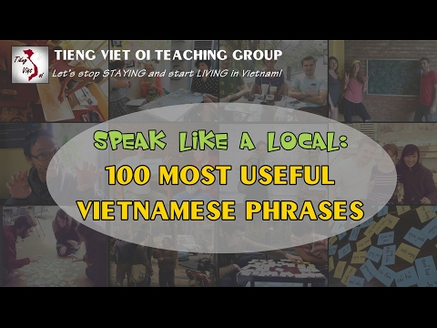 Learn Vietnamese with TVO   100 Most Useful Phrases - Part 1