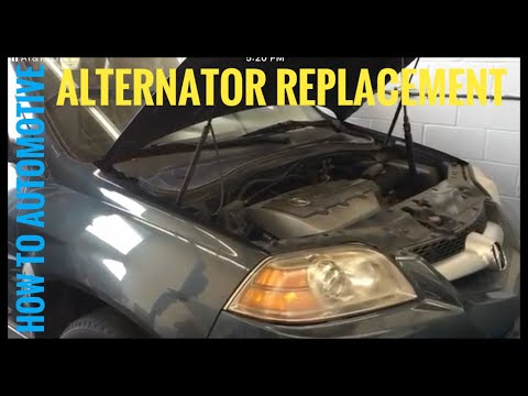 How to Replace the Alternator on a 2006 Acura MDX