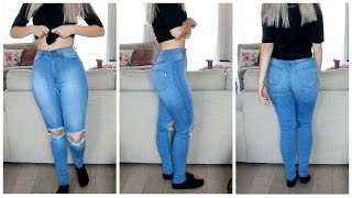 Amazing Jeans For Curvy Girls / Small Waist  Coco Chanou