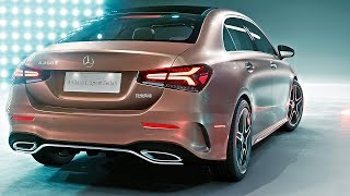 Mercedes A Class Sedan 2019 World Premiere смотреть