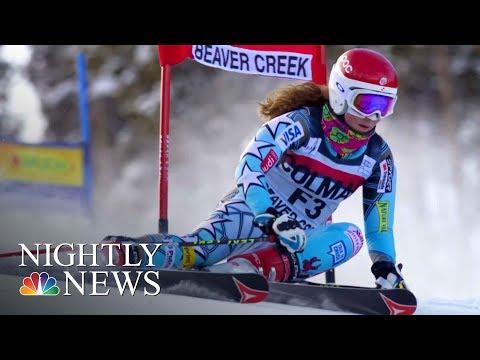 Meet Mikaela Shiffrin, The 22-Year-Old Skiing Phenom On The U.S. Olympic Team | NBC Nightly News