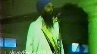 Sant Bhindranwale's reply to Media