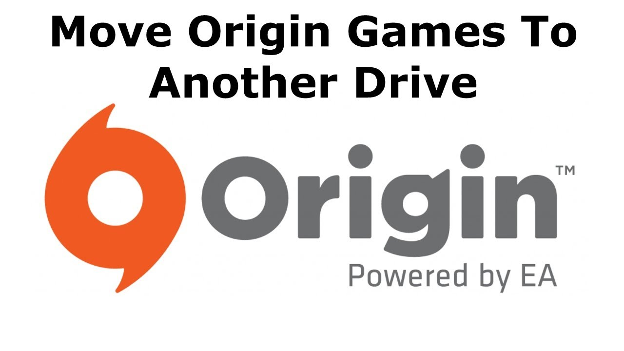 how to move origin games to another drive youtube