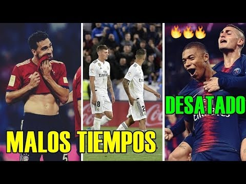 RESUMEN jornada en EUROPA:  Liga, Premier, Serie A, Bundesliga, Ligue 1...!!Viva el fútbol!!