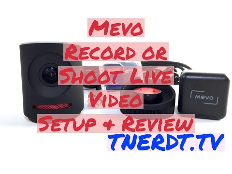 Mevo Record Or Shoot Live Video For IPhone, IPad Setup & Review