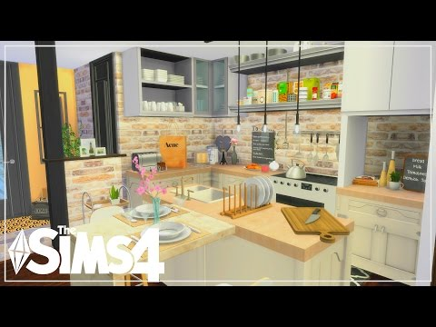 The Sims 4| Apartment Build | Tumblr Couple Studio Apartment  (Speed Build)
