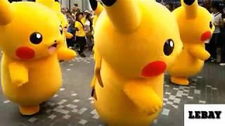 Pikachu Goyang TIK TOK DJ AISYAH VS AKIMILAKU