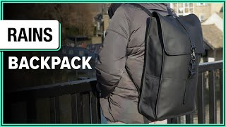 Rains Backpack Review (3 Weeks Of Use)