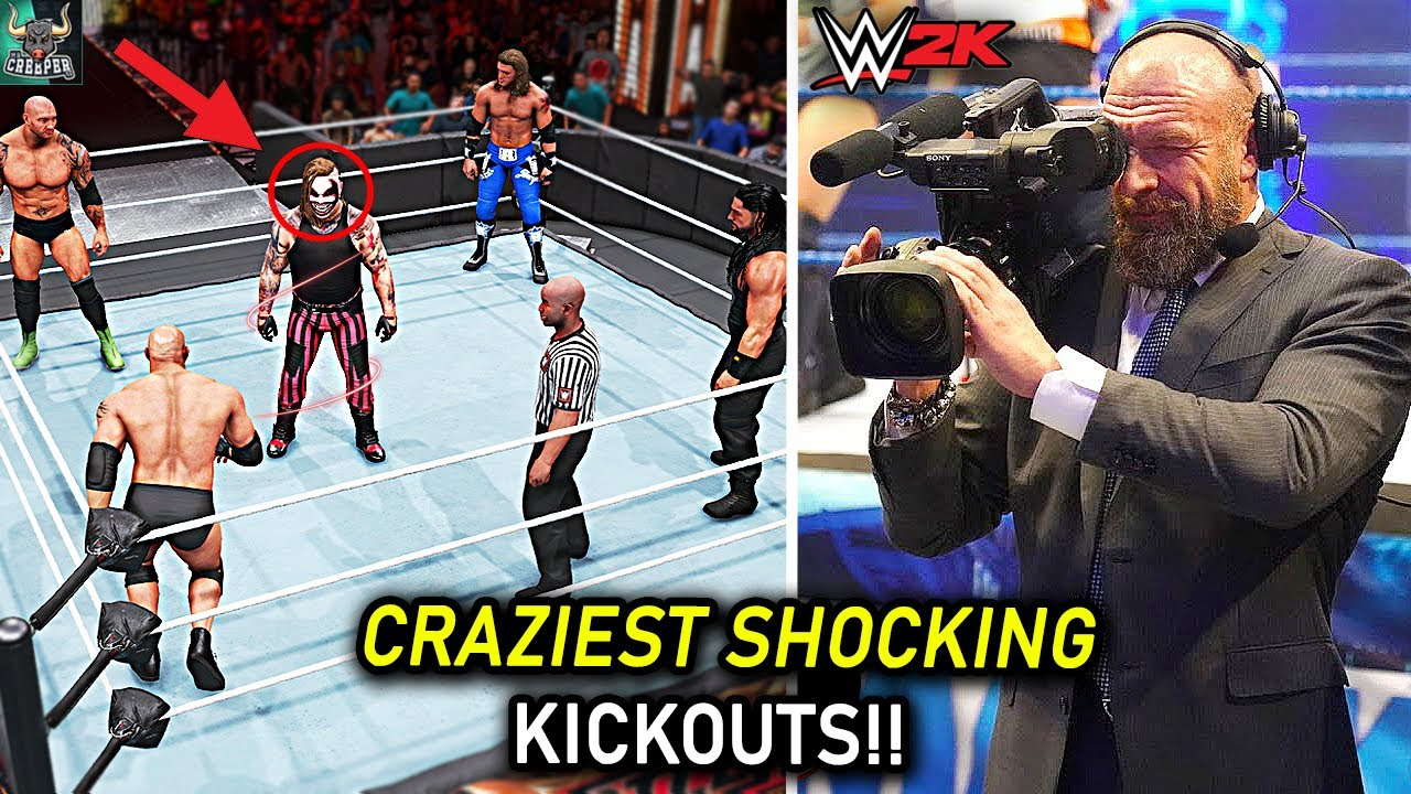 MOMENTS You Wouldn't Believe If They Weren't RECORDED!! WWE 2K22 Countdown