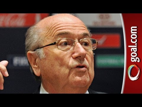 FIFA boss Blatter SLAMS South Africa for too much dancing before World Cup!
