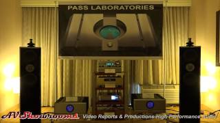Pass Labs XA 100 8, Accuphase, Usher Audio loudspeakers, RMAF 2014