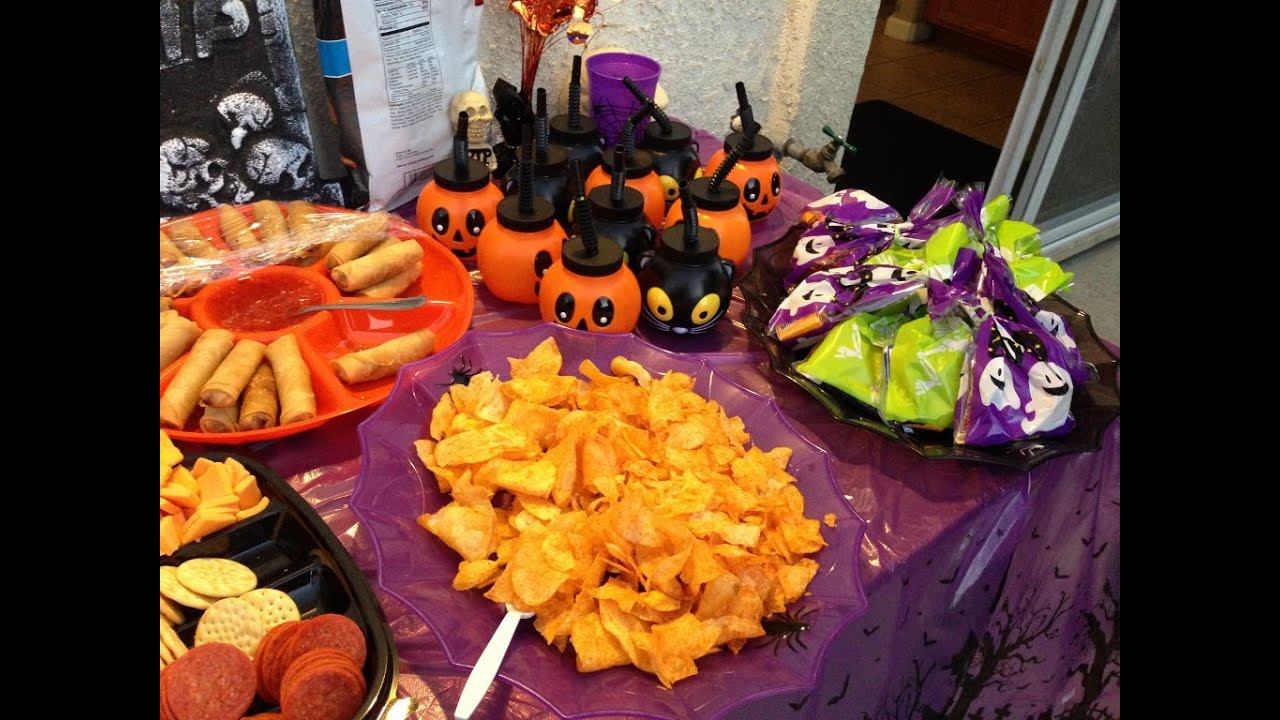 Halloween Potluck food Party. Cooking Cambodian/Khmer food ... | 1280 x 720 jpeg 142kB
