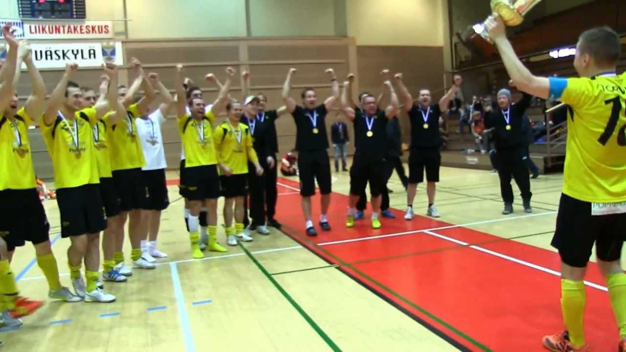 FINAALIT! KaDy-Ilves FS 5-6 (3-0) Futsal-Liigan 4. finaali 14.4.2012 Jyväskylä monitoimitalo ...