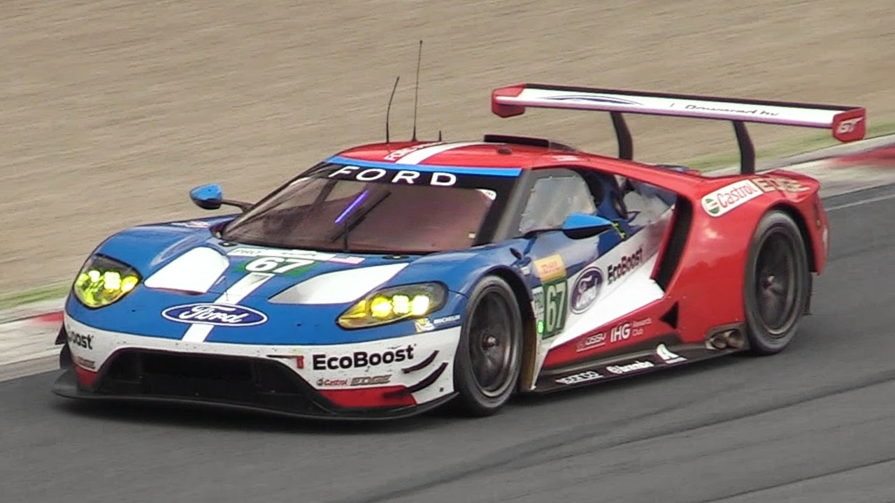 Ford Gt Lm Gte Testing On Track During The  Wec Prologue