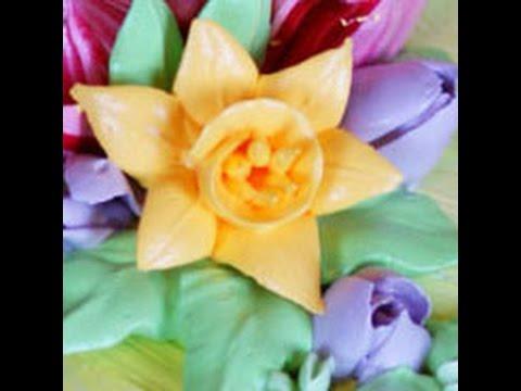 нарциссы 2-х видов. Narcissus flower. Italian Merengue
