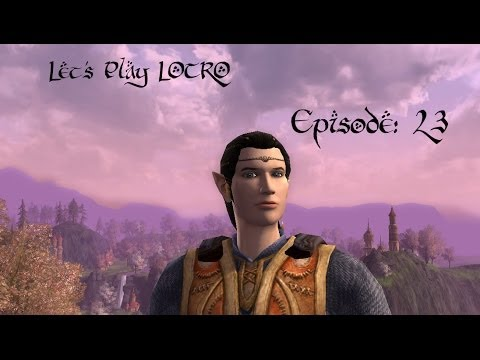 Let's Play LOTRO Episode 23 - Tour of Duillond's Housing Escrow