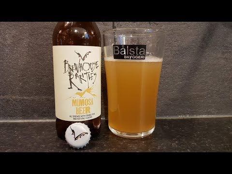 Flying Dog Brewery Brewhouse Rarities Mimosa Beer | American Craft Beer Review