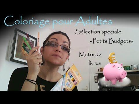 Coloriage Pour Adultes Selection Petits Budgets Materiel