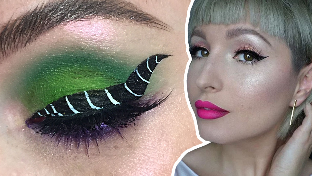 Maleficent Eyeliner Makeup Tutorial With Vlada Haggerty Disney Style Live