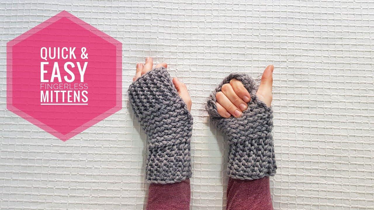 Free Fingerless Gloves/_Ear Warmer Set Loom Knit/_Baby Pink/_Ready to Ship