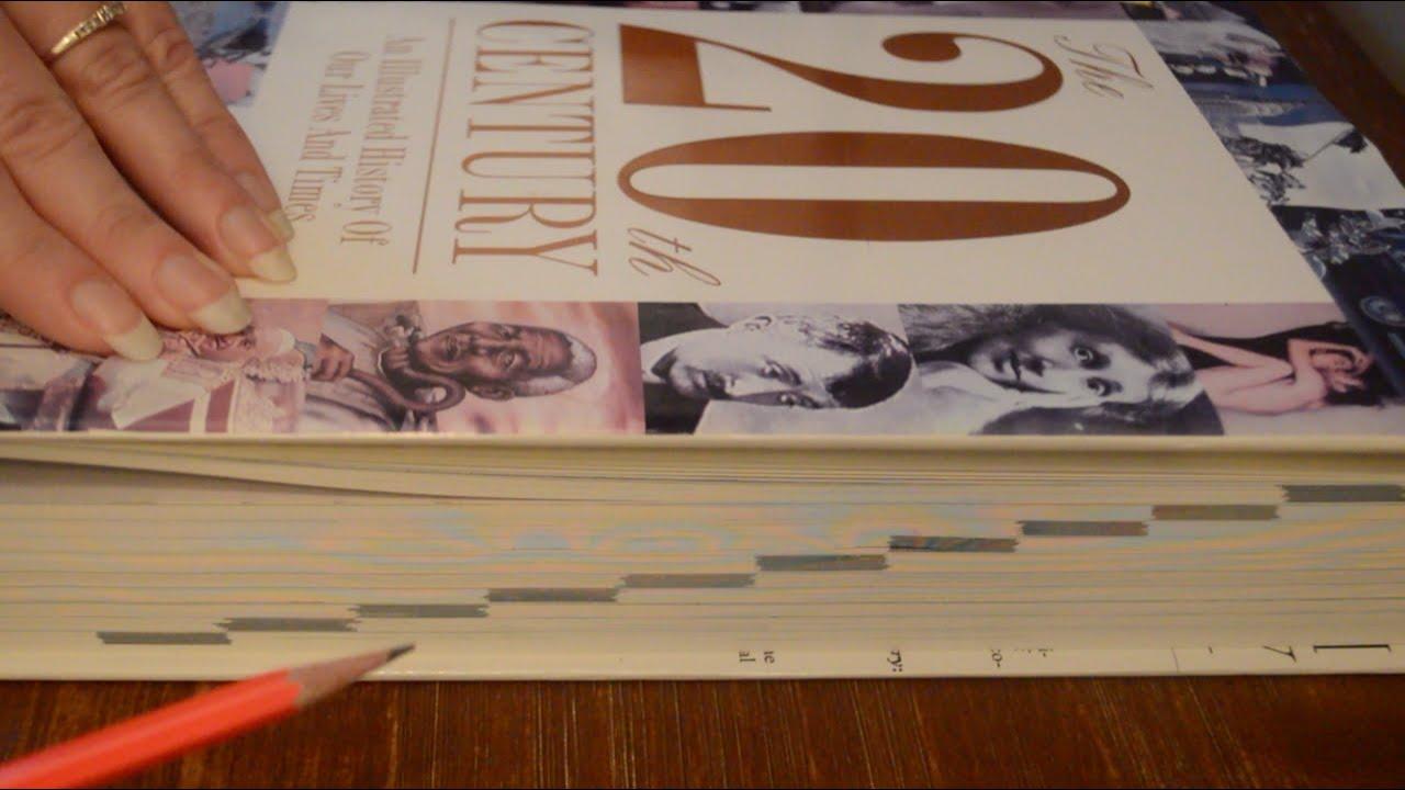 Asmr - 20th Century Book Look Through / Reading - Softly Spoken