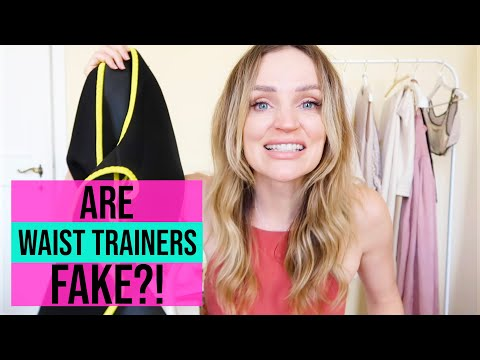 Waist trainers - Do they work? Trying and testing three of the most popular waist trainers!