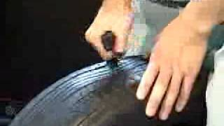 How to repair a flat tire without changing tires
