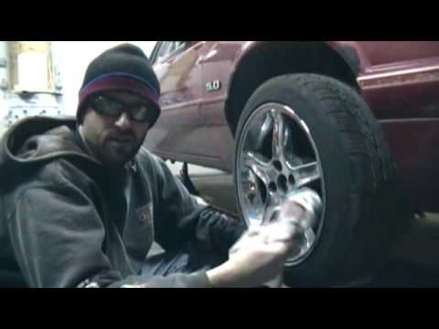How to Restore / Polish Aluminum Chrome Wheels
