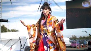 Geisha Opera Singer Madam SEN performs Puccini, Mozart, and trance music at OC Japan Fair 2019