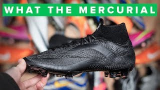 NIKE WHAT THE MERCURIAL | 20th Anniversary blackout Superfly 6
