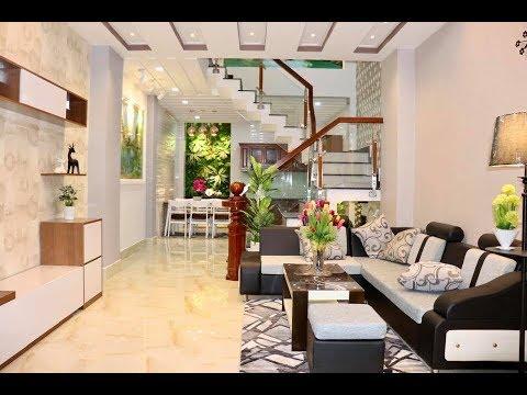 Nhà bán Gò Vấp. 4 x 15m Căn nhà 3.5 lầu đẹp hoàn hảo với nội thất hiện đại nhìn là thích ở Gò Vấp