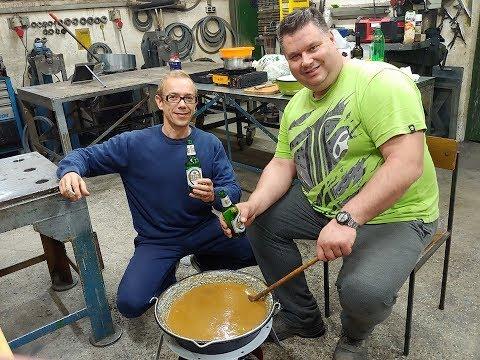 Taste of Slovenia GOLAŽ ( stew ) with Captain Blaž Captain Mitja and Pilot Robert