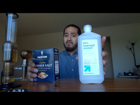 Is Cleaning Bong With Salt And Alcohol Better Than Formula 420??