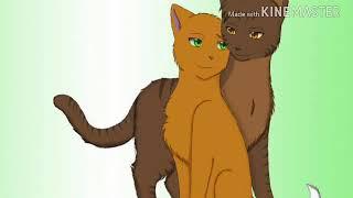 Коты Воители: Уголек, Белка , Ежевика. Твоя девочка ушла.
