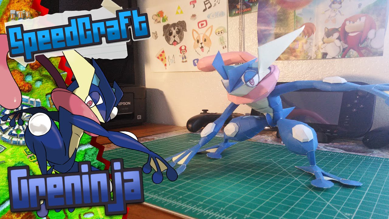 Papercraft Pokemon Papercraft ~ Greninja  ~