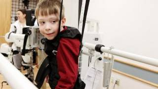 Tell Me a Story: Robotic Legs Give Parents Hope that Son May Learn to Walk