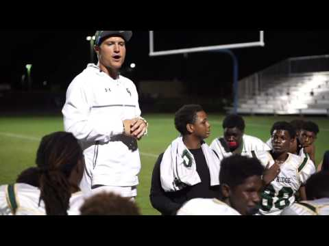 Coach Baylin Trujillo JV Post Game Speech: ORHS vs Freedom (Won 38-8) 9/15/16
