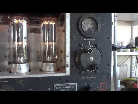 BC 375 world war II transmitter used in B17 flying fortresses