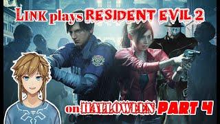 Link plays Resident Evil 2 on  Halloween - part 4