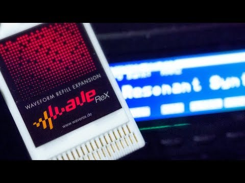 WaveRex - How to use your own samples in a Korg Wavestation or M1