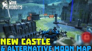 New Moon Map & Castle Comparing & Exploring | War Robots Test Server