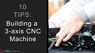 Our 10 tips: Assembling a CNC